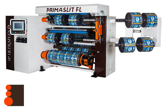 PRIMASLIT FL Front-Duplex Slitter rewinder rear load