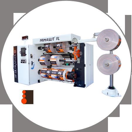 PRIMASLIT FL - Duplex Slitter Rewinder Front Loading