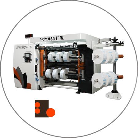 PRIMASLIT RL - Duplex Slitter Rewinder Rear Loading