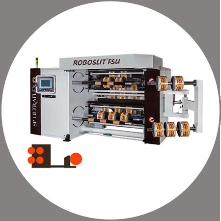 ROBOSLIT FSU - Dual Turret Slitter Rewinder Free Standing Unit