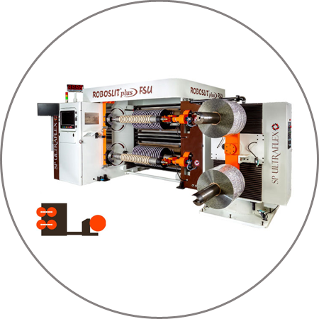 ROBOSLIT plus FSU - Dual Turret Slitter Rewinder Plus FSU