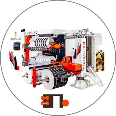 Roboslit plus OHP - Dual Turret Slitter Rewinder Plus OHP