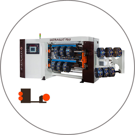 ULTRASLIT FSU - Duplex Slitter Rewinder Free Standing Unit
